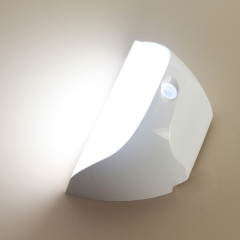 ZEEFO Night Lights Bright Waterproof IP44 Motion Sensor LED Wall Night Light