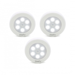 ZEEFO 3 Pack LED Night Lights with Motion Activated Sensor Light